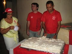 Caravana do PT em Redenção do Gurguéia comemora os 30 anos de Partido e dá posse a novo Diretório Municipal.