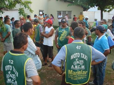 Presidente de Sindicato dos Mototaxistas foi assassinado
