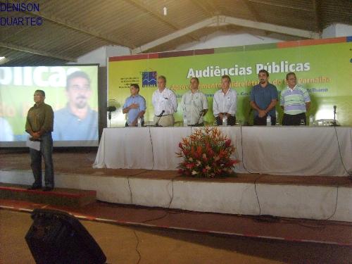 Audiência pública do IBAMA reúne 2500 pessoas