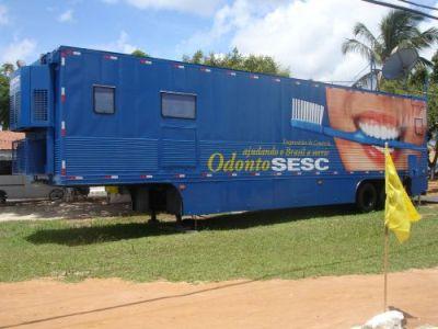 Vila Nova Conquista recebe a carreta OdontoSESC