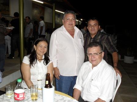 Autoridades de Agricolândia no aniversário de São Pedro