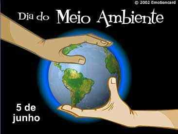 Hoje é dia Mundial do Meio Ambiente