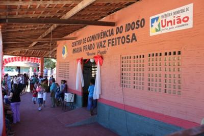 David Caldas ganha Centro de Convivência do idoso e de crianças