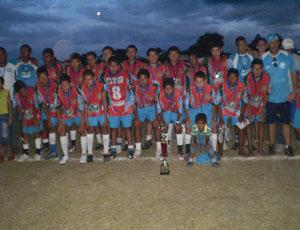 Seleção Infanto de Monsenhor Gil é campeão invicto na Copa Zico 10, sediado em José de Freitas