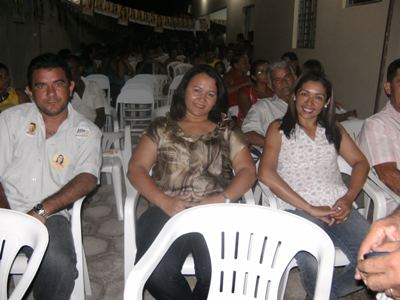 Lilian Martins e Átila Lira participam de reunião em União