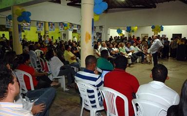 Silvio Mendes falou aos oeirenses sobre suas propostas de governo
