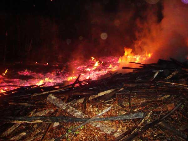 Incêndio em serraria de Miguel Alves assusta moradores