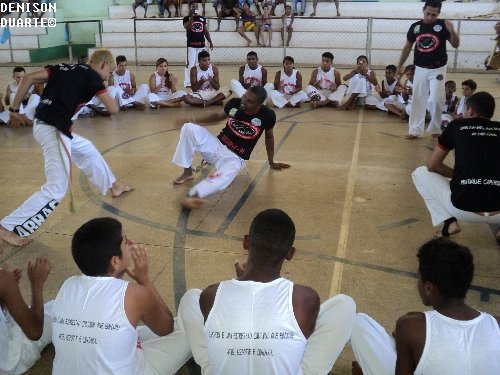 A capoeira em Amarante está em constante evolução, afirma Mestre Mantega.