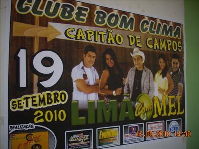 Andrade Produções contagia a cidade com a expectativa de mais um grande show da Banda LIMÃO COM MEL.