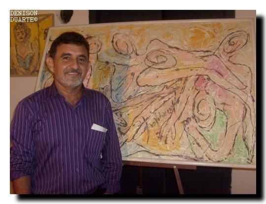 Obras do Artista Plástico Pio Vilarinho para a exposição em dezembro