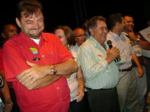 Governador e candidato a reeleição Wilson Martins realiza comício em Valença