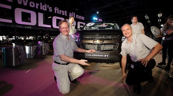 General Motors produz primeira unidade do Chevrolet Colorado