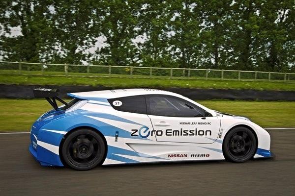 Nissan Leaf Nismo RC combina eletricidade e adrenalina; fotos!