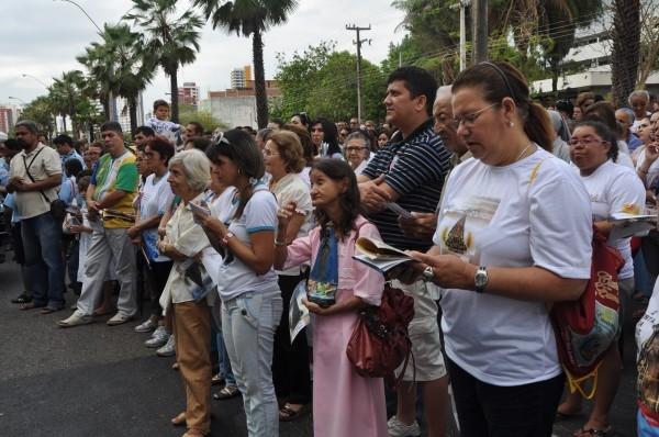 5 mil pessoas participam de procissão da 5ª Festa da Mãe de Deus  - Imagem 6