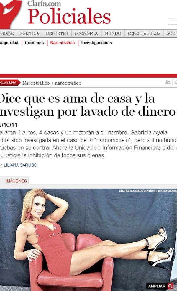Argentina: Dona de casa é acusada por lavagem de dinheiro