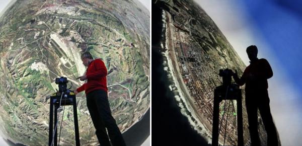 Empresa cria simulador de voo com visão de 360 graus