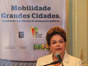 Dilma diz que União já cedeu sobre divisão dos royalties