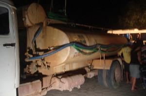 Caminhão desgovernado atropela e mata quatro pessoas, e deixa Três feridos .