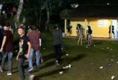 Festa Rave na casa de Vagner Love termina com 2 pessoas presas