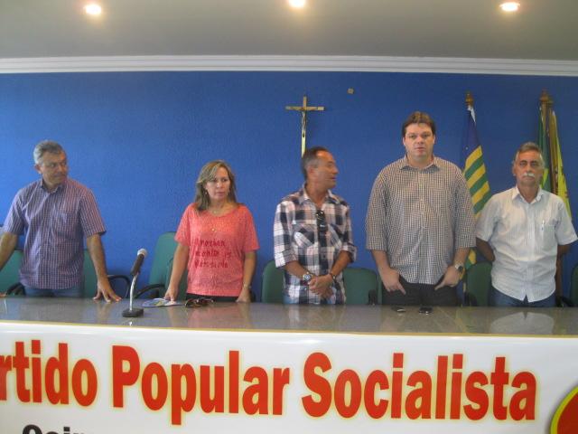 PPS de Oeiras realiza convenção e filiação de novos partidários