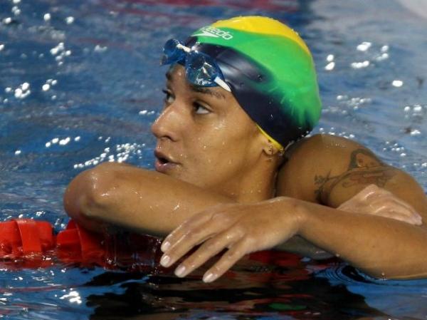 Pan: Joanna Maranhão sofre, mas vai à final dos 400 m livre