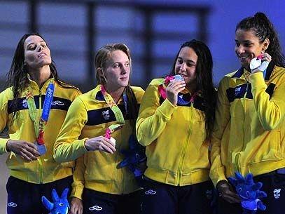 Brasil conquista a prata no revezamento 4x200 m livre