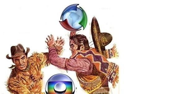 Disputa Record x Globo ganha força nas redes sociais