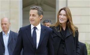 Nasce a filha de Carla Bruni e Nicolas Sarkozy