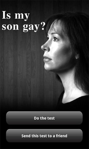 Aplicativo para celular revela se o seu filho é gay ou não