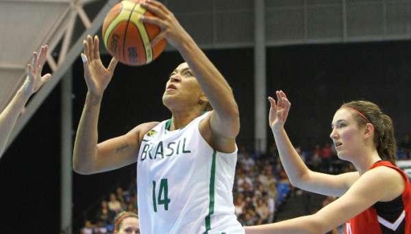 No Pan: Brasil derrota o Canadá no basquete feminino; 78 a 53