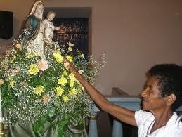 Inicia o festejo de Nossa Senhora do Rosário