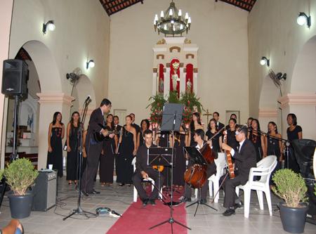 Monsenhor Gil: Paróquia de Menino Deus promove concerto com músicas clássicas