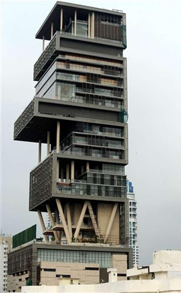 Bilionário faz mansão de 27 andares, mas tem medo de má sorte