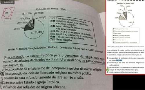 MPF do Ceará recomenda ao MEC a anulação do Enem por suposto vazamento de questões