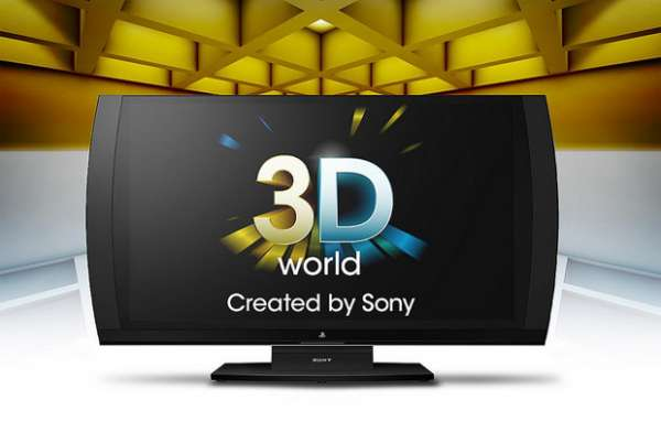 TV 3D para games da Sony conta com recurso de