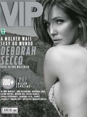 Deborah Secco é eleita a mulher mais sexy do mundo pela revista VIP