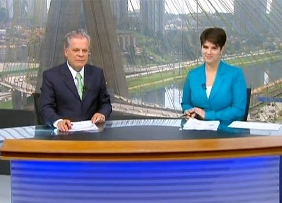 Audiência da Globo não aumenta com mudança de jornalistas