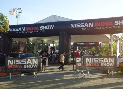 Nissan Inova Show chega a Teresina nos dias 7,8 e 9; está percorrendo mais de 30 cidades