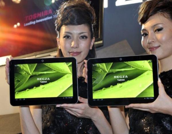 Toshiba apresenta novo tablet com 7 milímetros de espessura