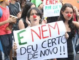 Estudantes aguardam ansiosos a decisão sobre anulação ou não do ENEM 2011