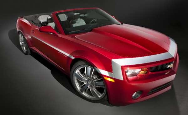 Chevrolet revela versão especial do Camaro para feira tuning