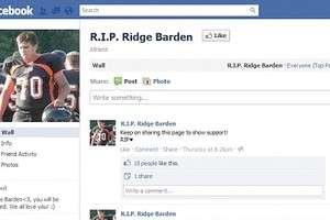 Mãe descobre que filho morreu pelo Facebook