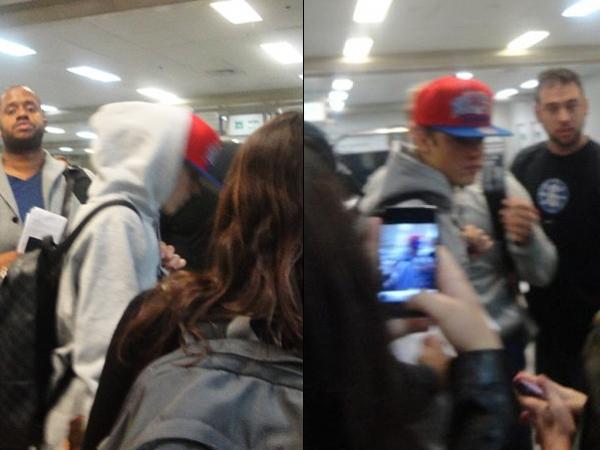 Justin Bieber e Selena são recebidos com vaias no Rio