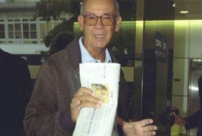 Pai de Herbert Vianna deve ter alta hoje após queda de ultraleve