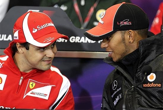 Irritado, Massa diz que Hamilton quis dar de