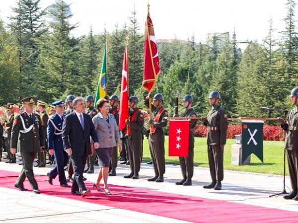 Presidente Dilma encerra sua viagem à Turquia; veja foto!