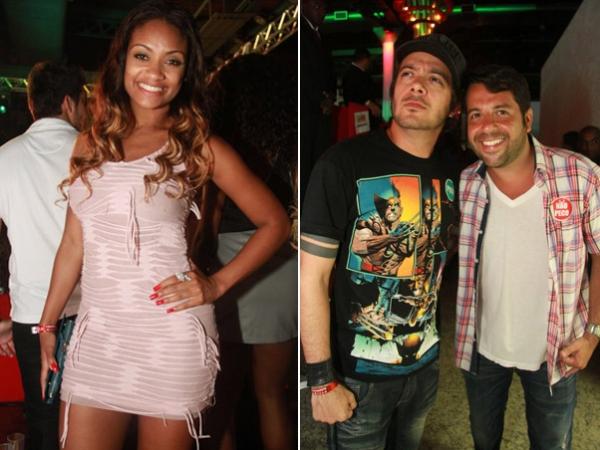 Fani Pacheco beija muito o namorado em balada cheia de famosos no Rio
