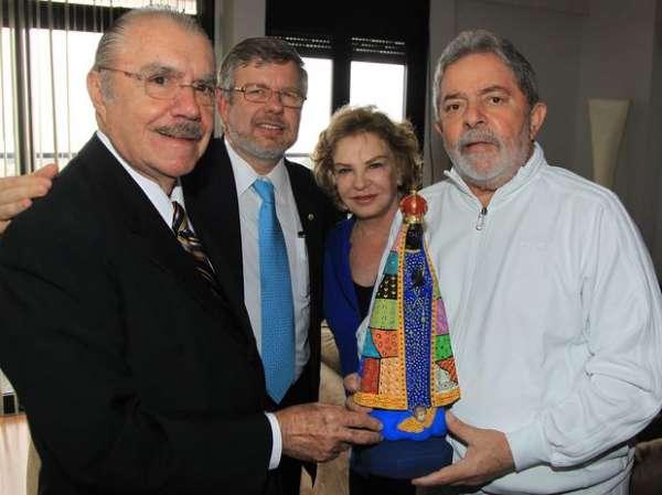 Lula comemorou acordo para candidatura de ministro Haddad
