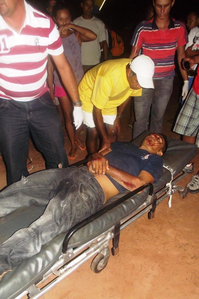 O acidente gravíssimo na estrada que liga Alto Longá a  Novo Santo Antônio
