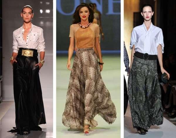 Saia longa vai chamar atenção no Verão 2012, dizem estilistas
